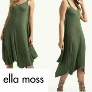 Ella Moss Asymmetrical Handkerchief Hem Dress